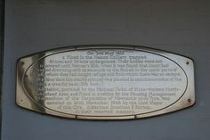 Plaque on the entrance to The Spinney flats, High Heaton Newcastle | Flickr - Photo Sharing!