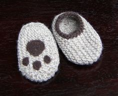 Chaussons laine - Bear Paw bas, chaussons laine, Crib chaussures, chaussons