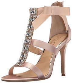 Badgley Mischka Jewel Women's Henderson Dress Sandal  | Latest Fashion Trends #shoes #shoesaddict #shopping #shoelover #highheels #heels #fashiontrends #fashioninspiration #fashionbloggers #pumps