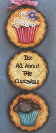 Cupcake Plaques