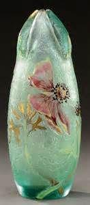 Émile Gallé (1846-1904). Vase Africana. 1900. Verre soufflé et ...
