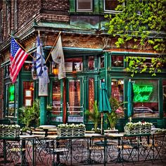 Elysian Cafe in Hoboken. Hoboken Restaurants, Hoboken Bars, Past Life, Stuff To Do, The Neighbourhood, Beautiful Places, Scenery, French Bistro, Explore