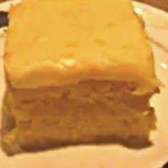 Orange Soda Cream Cake - Just 3 ingredients! Mmmmmm....tastes just like an orange creamsicle.