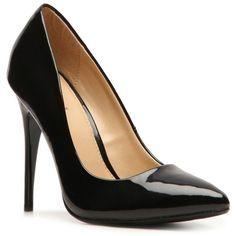 Diba Dianna Patent Pump Pumps & Heels Women's Shoes - DSW ($40) via Polyvore