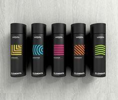 L'Oréal Professionnel Paris – Beauty – Package Inspiration - Top-Trends Food Packaging Design, Beauty Packaging, Cosmetic Packaging, Packaging Design Inspiration, Brand Packaging, Coffee Packaging, Packaging Ideas, Branding Design, Deodorant
