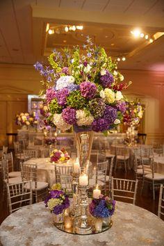 Magnificent floral centerpiece. Photo by Karlisch Photography. #wedding #centerpiece #decor