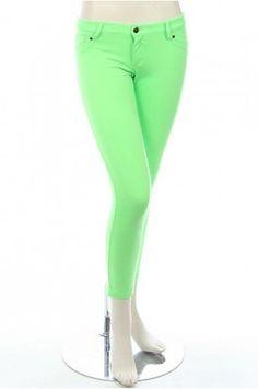 legginz.com green jeggings (10) #cuteleggings