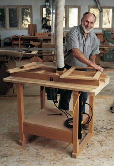 48 best woodworking routers for dyiers images on pinterest ultimate router table plan woodworkersjournal greentooth Choice Image