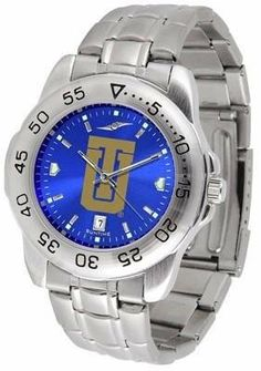 Tulsa Golden Hurricane NCAA Mens Sport Anochrome Watch SunTime. $63.95. Links Make Watch Adjustable. Officially Licensed Tulsa Hurricane Men's Stainless Steel Wristwatch. AnoChrome Dial Enhances Team Logo And Overall Look. Stainless Steel-Scratch Resistant Crystal. Men. Save 22% Off!