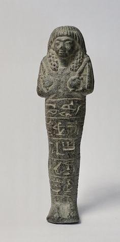 Chaouabti du commandant de régiment, gouverneur des pays étranger, Nakhtmin. XIXe dynastie.