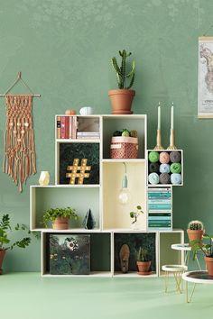 Wooden boxes www.pandurohobby.com Home Decor by Panduro #DIY #interior #lamp #inredning  #modules #box