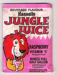 Jungle Juice New Zealand - Best Recipes Around The World Vintage Soft, Vintage Ads, Vintage Items, My Childhood Memories, Best Memories, Juice Magazine, Juice Ad, Kitchens, Stamp