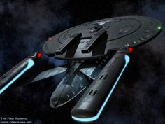 The New Orleans class, only seen as a wreck in the battle of Wolf 359 in Star Trek TNG Best of Both Worlds.