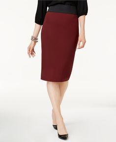 Gorgeous Mahogany INC Pencil Skirt @ Macy's ♥