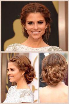 Maria Menounos bei der Oscar Verleihung 2014 - ein fantastischer Look: tolle Haare und sehr schönes Make-up. #inspiration