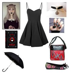 """""""Elizabeth - Intro"""" by shadow-cheshire ❤ liked on Polyvore featuring Glamorous, Iron Fist and EMILY THE STRANGE"""