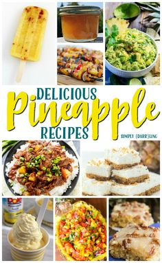 Bring the tropics to your kitchen with all these delicious pineapple recipes. Perfect flavors to enjoy this summer, or whenever you need a little boost.