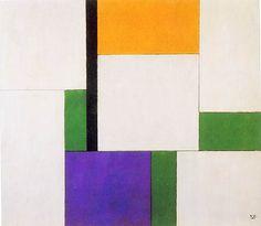Composition - Georges Vantongerloo