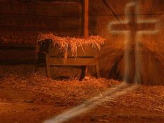 From the cradle to the cross.  But that was not the end ...........  He Lives !!!
