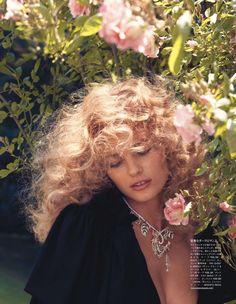 Remembered by Eros | Edita Vilkeviciute | Camilla Akrans #photography | Vogue Japan September 2012