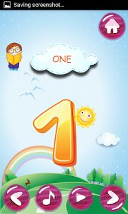 1234 Kids App: Learning of Number