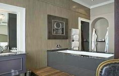 Exquisite HUGE bathrooms at the Dock House Boutique hotel & Spa