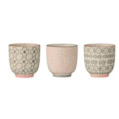 Bloomingville Becher Cécile Rose/Grey