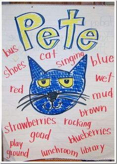 Doodle Bugs Teaching {first grade rocks!}: A little bit more of Pete the Cat {free downloads}
