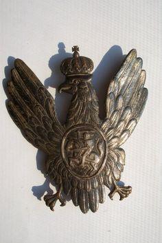 Orzeł na czapke pułków Litewskich - 1812