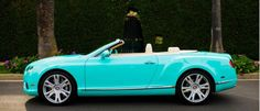 OMG I found it! The Tiffany & Co. inspired Bentley Convertible that was on the Bachelorette! I'M IN LOVE!!!!