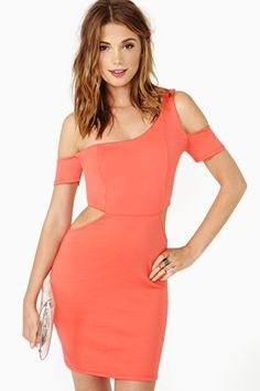 Nasty Gal Sweet Divide Dress