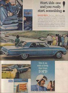 Ford Galaxie 500 ad (1962)