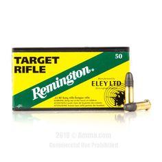 Remington 22 LR Ammo - 50 Rounds of 40 Grain LRN Ammunition #Remington #RemingtonAmmo #22LRAmmo #22LR