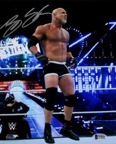 Bill Goldberg Signed WWE Wrestling Standing In Ring Photo Goldberg Wwe, Bill Goldberg, Wrestling Stars, Wrestling Wwe, Wwe All Superstars, Wrestlemania 33, Kevin Owens, Wwe Wallpapers, Wwe Photos