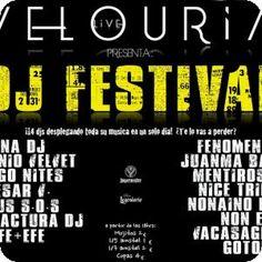 Festival de DJs en el Velouria