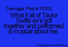 No offense but it would be pretty funny!