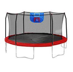 Skywalker Trampolines Jump N' Dunk Trampoline with Safety Enclosure and Basketball Hoop, Red, 15-Feet Skywalker Trampolines http://www.amazon.com/dp/B00PCGHJK6/ref=cm_sw_r_pi_dp_PTqqvb09HM570