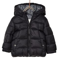 Quilted jacket with hood-OUTERWEAR-BABY BOY | 3 months-4 years ... : kids quilted jacket - Adamdwight.com