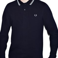 #FredPerry #polo #shirt #mangalarga #longsleeve #fredperrypolo #fredperryauthentic #nuevacoleccion #newcollection #AW15 Disponible en verde, azul y burdeos. http://www.rivendelmadrid.es/shop/catalogsearch/result/?q=M1392
