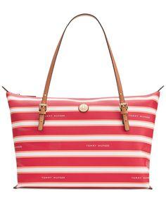 ec18afe7d3b46 Tommy Hilfiger TH Stripe Large Convertible Tote   Reviews - Handbags    Accessories - Macy s. Bolso De ManoBolsasBolso ...