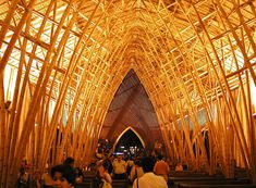 Arquitectura en Bambú: la obra de Simón Vélez,Iglesia Privada / Vía Flickr Usuario: BBC Worldservice