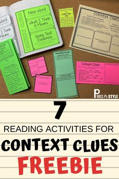 If you are looking for reading supports to help your elementary students practice CONTEXT CLUES during read aloud, guided reading, independent reading, morning work, homework & more, then this FREE… More