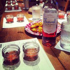 rosé wine tasting Festival & Feast Wine Co.