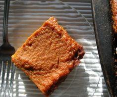 Pumpkin Bar Recipe Recipe | Paleo inspired, real food