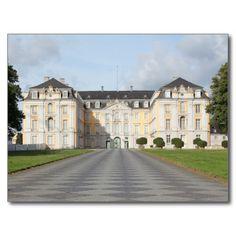 Augustusburg Palast in Brühl, Deutschland Postkarten #zazzle #Geschenkidee