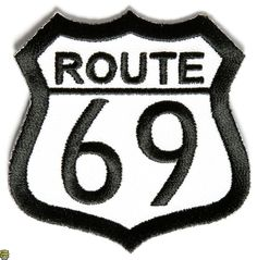 Route 69 Patch | Cool Embroidered Patches