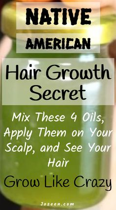Secret on Native American Hair Growth Mix these 4 oils, apply them on the scalp, . Vitamins For Hair Growth, Healthy Hair Growth, Hair Growth Tips, Diy Hair Growth Oil, Hair Growth Shampoo, Natural Shampoo, Natural Oils For Hair, Organic Shampoo, Hair