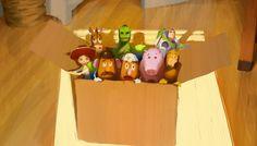 Dice Tsutsumi - Toy Story 3 colorscript