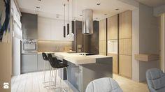 kuchnia z wyspą kuchenną Kuchnia - zdjęcie od Finchstudio Architektura Wnętrz