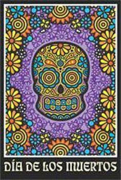 Dia de los Muertos Day of the Dead Art